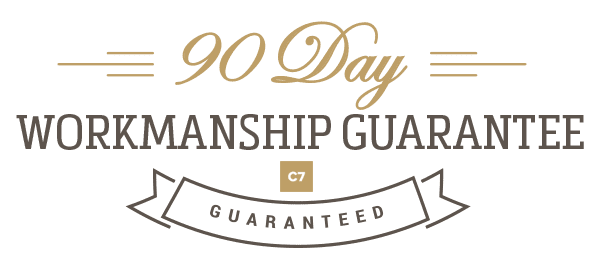 ninety workmanship guarantee
