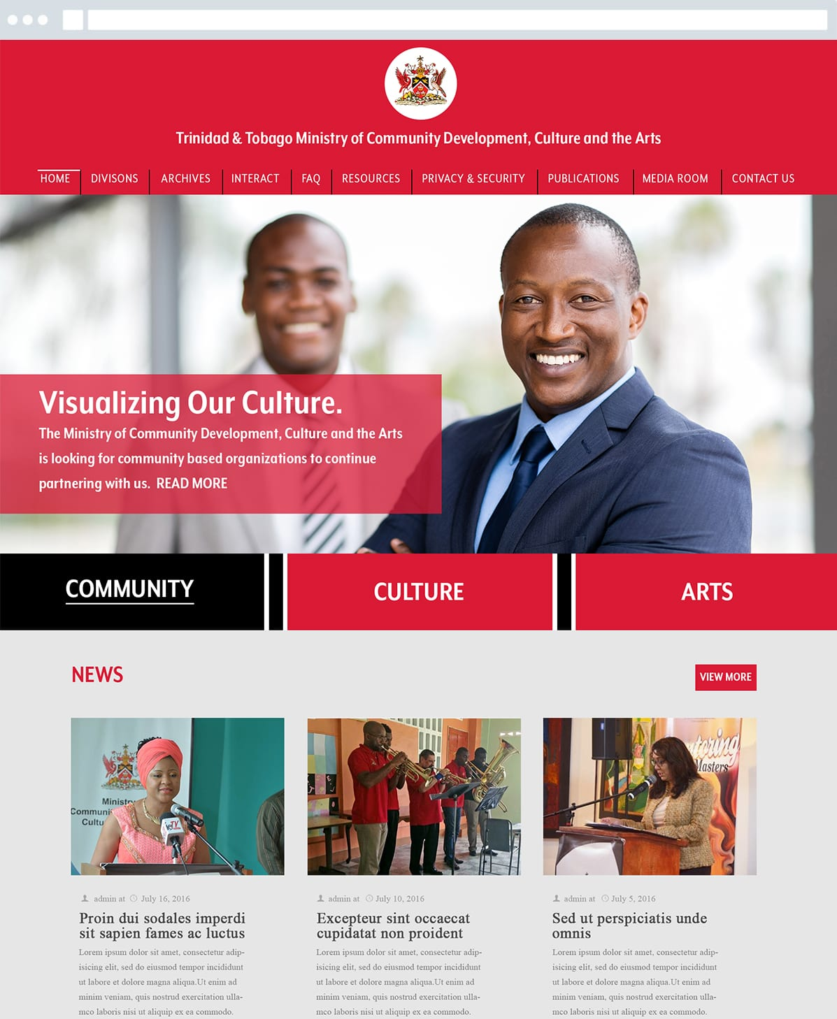Trinidad-Tobago-Government-Website-Mock-Ups